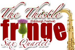 Edinburgh Fringe Sax Quartet