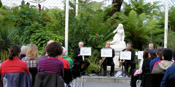 Sax appeal Kibble Palace music